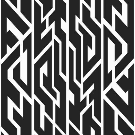 fabric texture: Monochrome trible seamless pattern.