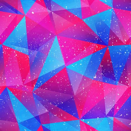 triangle pattern: Purple triangle seamless pattern. Illustration