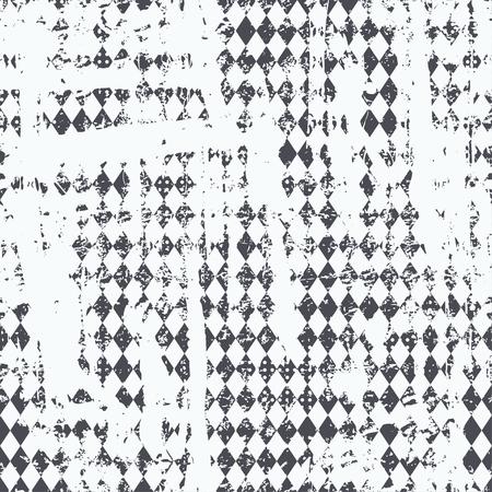 discrete: Monochrome urban seamless pattern.