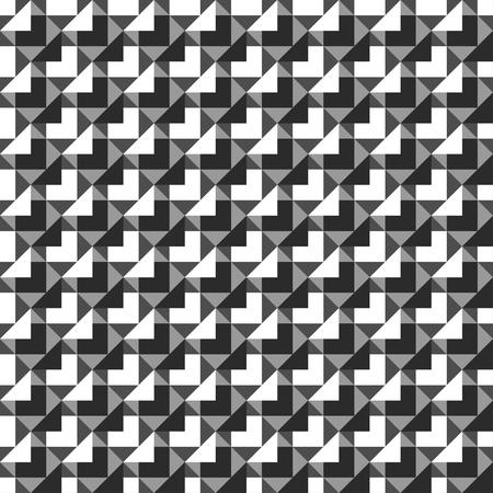 monochrome: Monochrome mosaic seamless pattern.