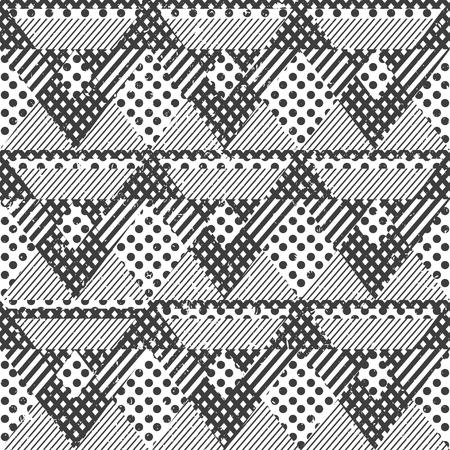 Abstract vector seamless pattern, EPS 10 file.