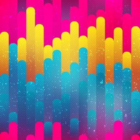 pastel color: Bright stripes seamless pattern (vector eps 10) Illustration