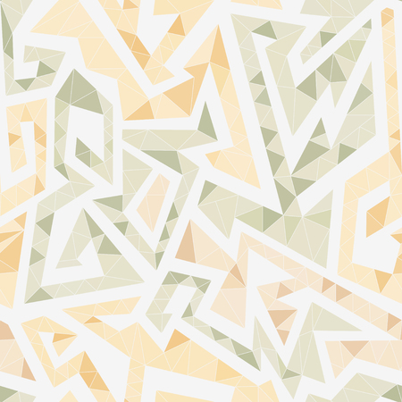 White maze seamless pattern (vector eps 10)