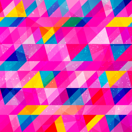 Grunge triangle seamless pattern (vector eps 10)