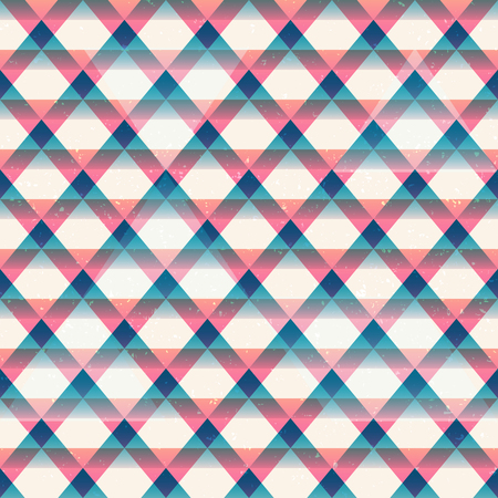 Retro triangles seamless pattern (eps 10 vector file)