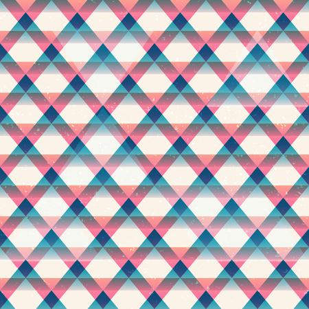 Retro triangles seamless pattern (eps 10 vector file)