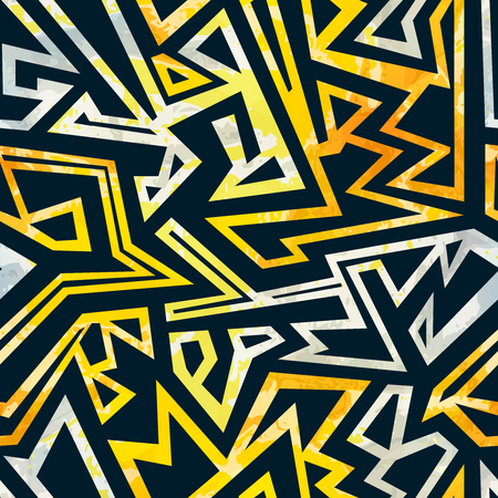 Graffiti seamless pattern. 向量圖像