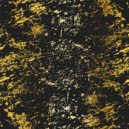 Gold color grunge texture
