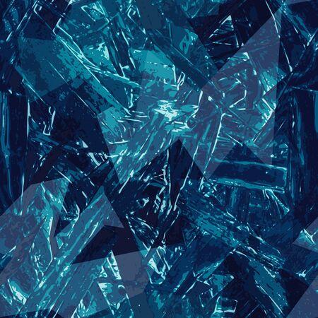 Ice grunge seamless texture.