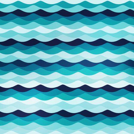 Marine seamless pattern..