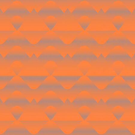 Vintage geometric seamless pattern with grunge effect. Ilustração