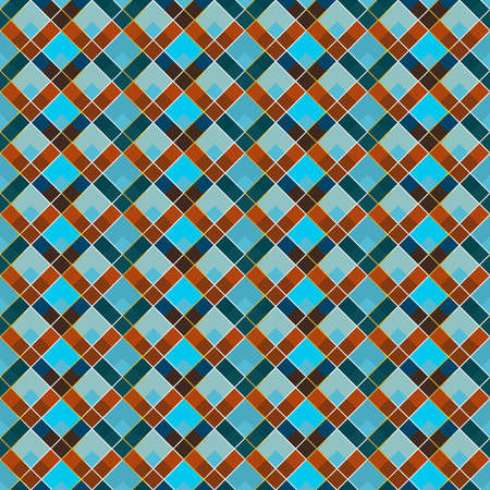 Retro mosaic seamless pattern.