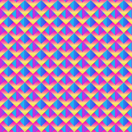 Bright geometric texture.