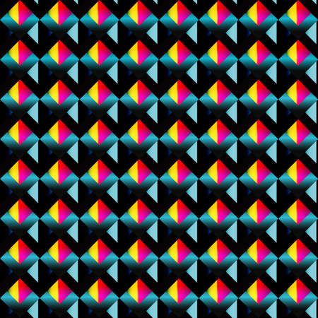 Abstract mosaic seamless pattern. Ilustração