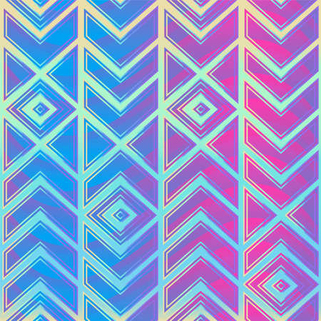 Bright retro mosaic pattern.