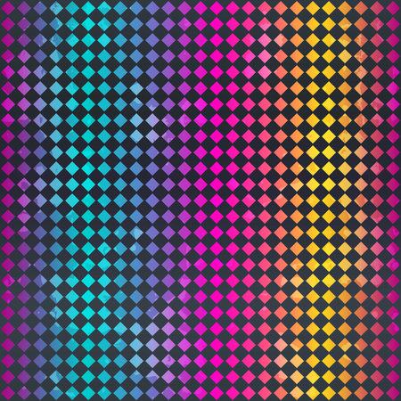 Bright mosaic seamless texture. Ilustração