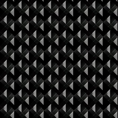 Dark geometric texture.