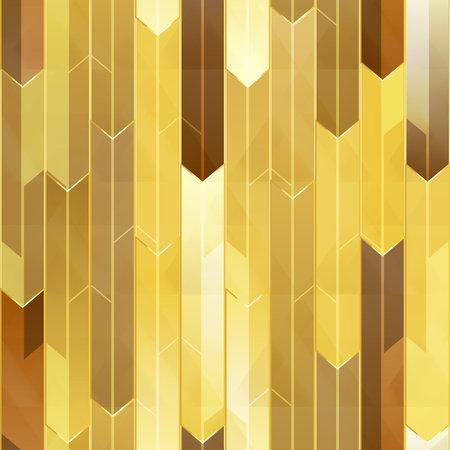 Gold mosaic seamless texture.