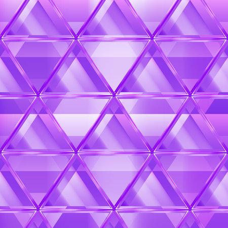 Purple color triangle seamless pattern.
