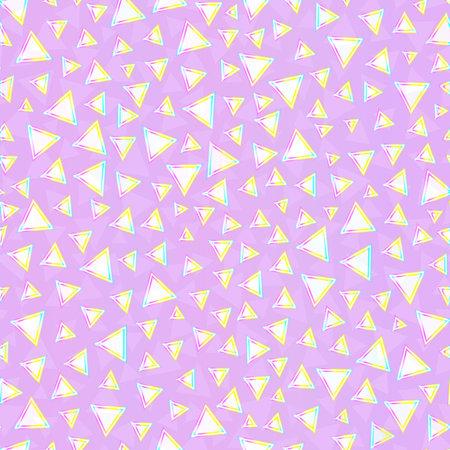 Pink triangle geometric texture.