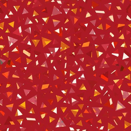 Triangle gems seamless texture.