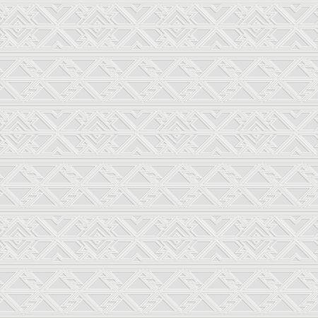 Retro white border pattern. Ilustração