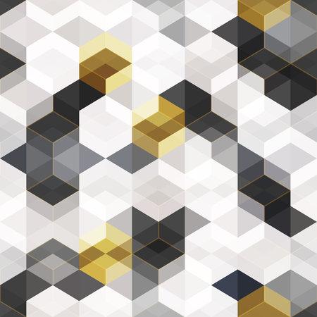 Tech rhombus seamless texture.