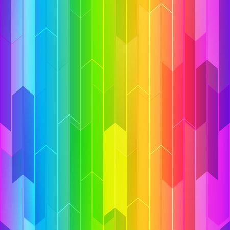 Rainbow mosaic seamless texture.
