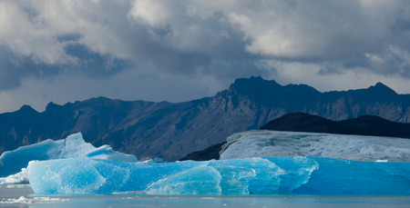 General view of the Perito Moreno Glacier. Argentina. Landscape. An excellent illustration.
