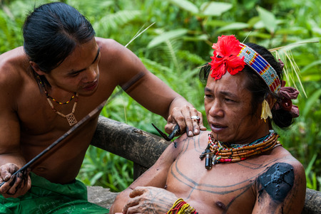 Mentawai Stammes Tattoos