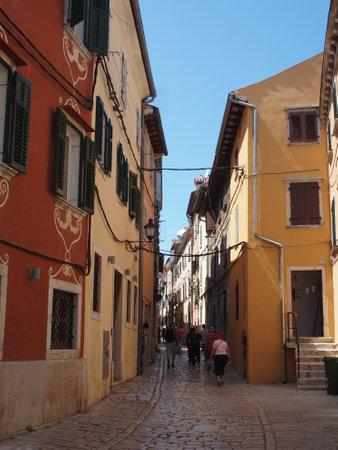old town of rovinj, croatia 写真素材