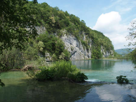 plitvice lakes national park in croatia offers unspoiled and unique nature full of lakes, rivers and waterfalls Imagens