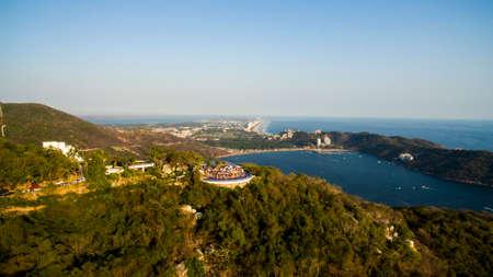 Puerto Marques and Diamond of Acapulco Zdjęcie Seryjne