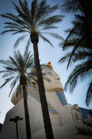 Sphynx of a Great Hotel of Las Vegas