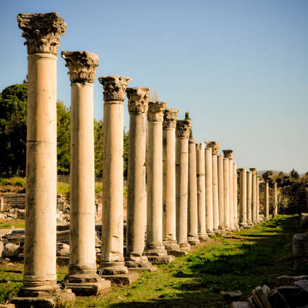 Row of Columns in Ephesus