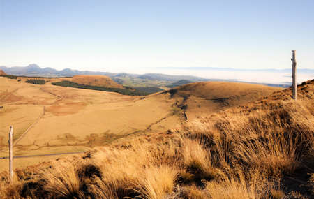 Autumnal Colors on the Hills of Auvergne