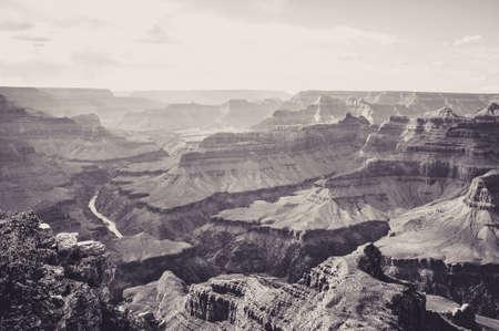 Bella vista dalla cima del Grand Canyon