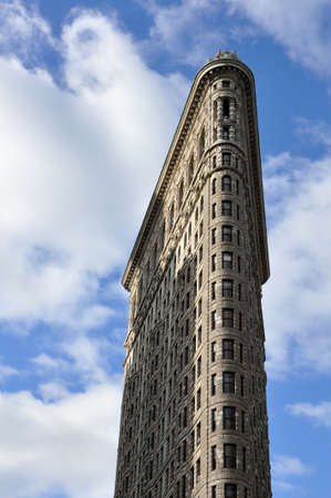 Flat Iron Building of New York
