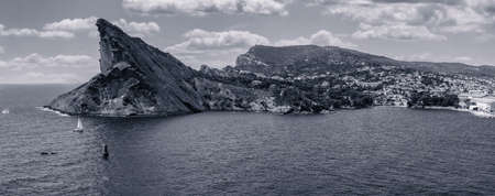 Panoramic View of La Ciotat and the