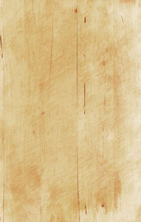 Wooden board on white background photo