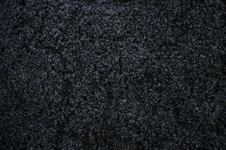 tar: New asphalt on a road