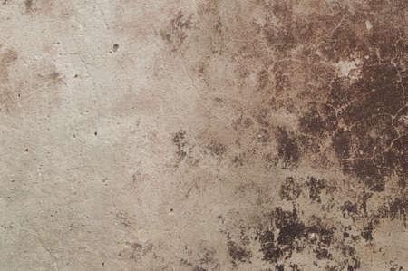devastation: Eroded old plaster at a wall