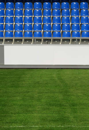 Sports arena  - Detail of an empty sports arena in sunshine Stock Photo - 8611699