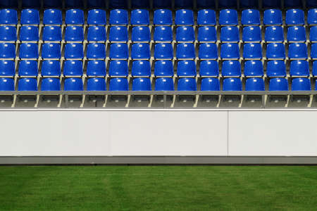 Sports arena - Detail of an empty sports arena in sunshine Stock Photo - 8607208