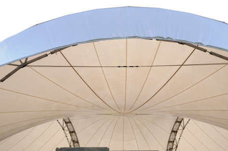 superstructure: Tent pavilion Part of marquee with framework