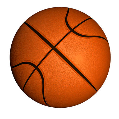 basketball ball: Basketball ball Illustration of a basketball ball isolated on a white background