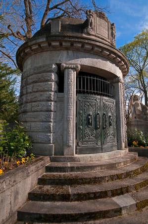 oratoria: Oratorio en el histórico de estilo Art Nouveau en el Cementerio Público