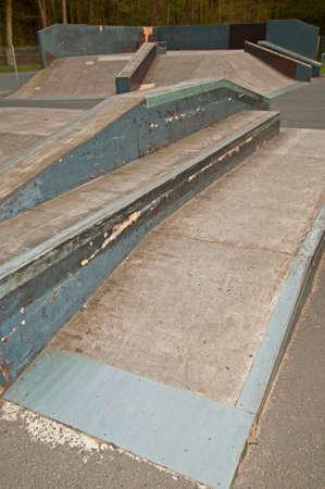 feats: Skate park pipe ramp skateboarding skater