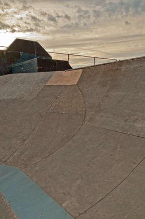 feats: Skate park ramp