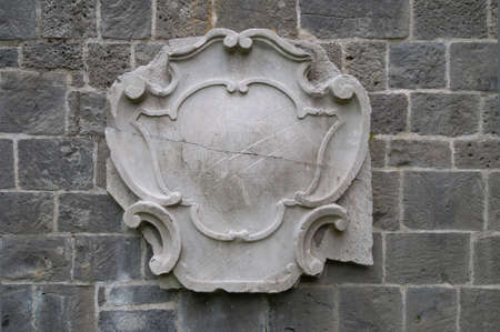 nobleness: Ancient gravestone with ornamental frame